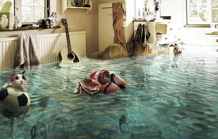 Потоп в квартире. С кого взыскивать убытки?