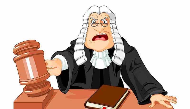 Судья – холерик